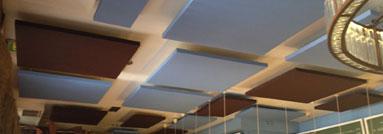 Paneles ac sticos absorbentes de ruido decorativos - Placas de insonorizacion ...